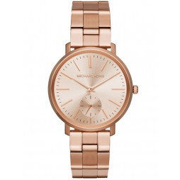Michael Kors Ladies Jaryn Rose Gold-plated Bracelet Watch MK3501