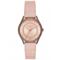 Michael Kors Lauryn Pink Strap Watch MK2722