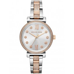 Michael Kors Ladies Mini Sofie Two Tone Bracelet Watch MK3880