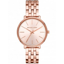 Michael Kors Pyper Rose Gold Plated Bracelet Watch MK3897