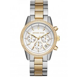 Michael Kors Ritz Two Colour Chronograph Watch MK6474
