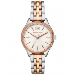 Michael Kors Ladies Lexington Tricolour Cream Dial Bracelet Watch MK6642