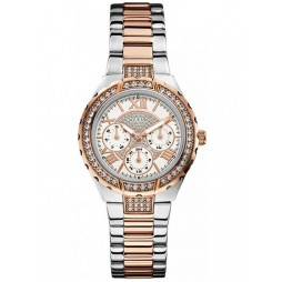 Guess Ladies Multi Dial Watch W0111L4