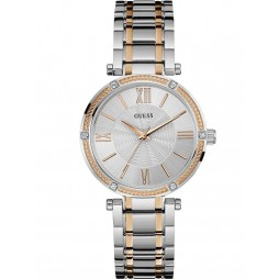 Guess Ladies Park Ave Stone Set Bracelet Watch W0636L1