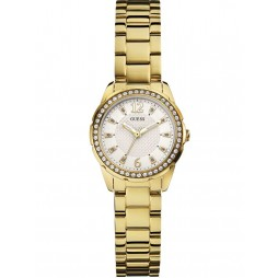 Guess Ladies Desire Gold Plated Bracelet Watch W0445L2