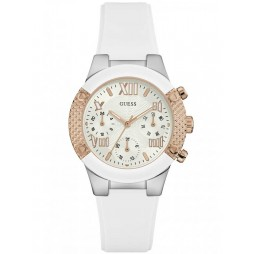 Guess Ladies Rockstar Strap Watch W0773L1