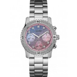 Guess Ladies Confetti Bracelet Watch W0774L1