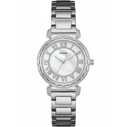 Guess Ladies South Hampton Stainless Steel Bracelet Watch W0831L1