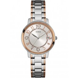 Guess Ladies Two Colour Bracelet Watch W0929L3