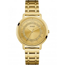 Guess Ladies Gold Plated Bracelet Watch W0933L2