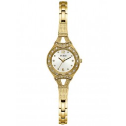 Guess Ladies Madeline Gold Tone Bracelet Watch W1032L2