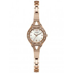 Guess Ladies Madeline Rose Tone Bracelet Watch W1032L3