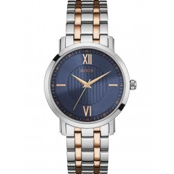 Guess Mens VP Two Tone Bracelet Watch W0716G2