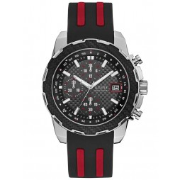 Guess Mens Octane Chronograph Strap Watch W1047G1