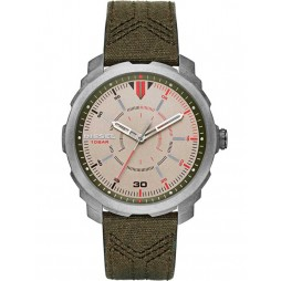 Diesel Mens Machinus Leather Watch DZ1735