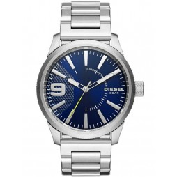 Diesel Mens Stainless Steel Rasp Watch DZ1763