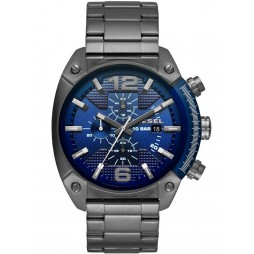 Diesel Mens Overflow Stainless Steel Chronograph Watch DZ4412