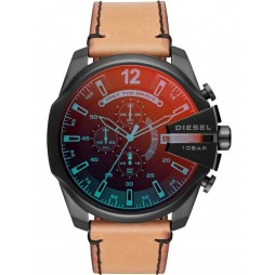 Diesel Mens Mega Chief Strap Watch DZ4476