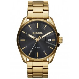 Diesel Mens MS9 Gold Plated Bracelet Watch DZ1865