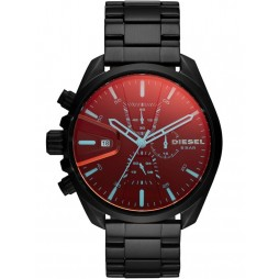 Diesel Ms9 Chrono Black Bracelet Watch DZ4489