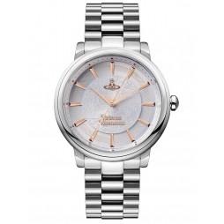 Vivienne Westwood Ladies Shoreditch Silver Dial Bracelet Watch VV196SLSL