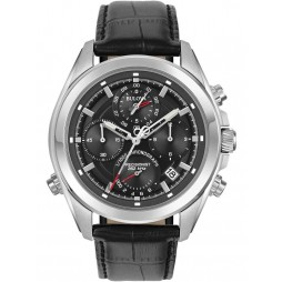 Bulova Mens Precisionist Chronograph Watch 96B259