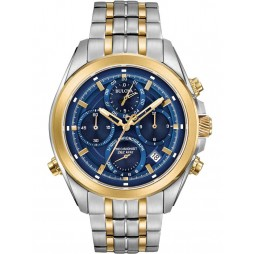 Bulova Mens Precisionist Two Tone Watch 98B276