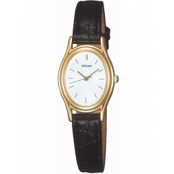 Seiko Ladies Gold Tone Strap Watch SXGA82