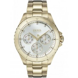 BOSS Ladies Premiere Gold Bracelet Watch 1502445