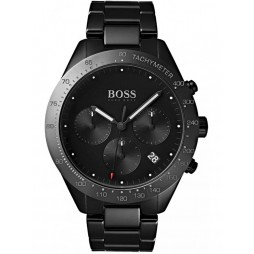 Hugo Boss Mens Talent Carbon Ceramic Chronograph Watch 1513581