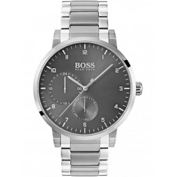 Hugo Boss Mens Oxygen Stainless Steel Bracelet Watch 1513596
