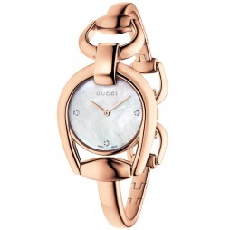 Gucci Ladies Horsebit Watch YA139508