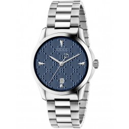Gucci Ladies Blue Medium Bracelet Watch YA1264025