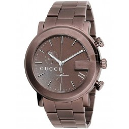 Gucci Mens G-Chrono Bracelet Watch YA101341