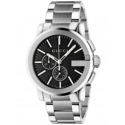 Gucci Mens G-Chrono Bracelet Watch YA101204