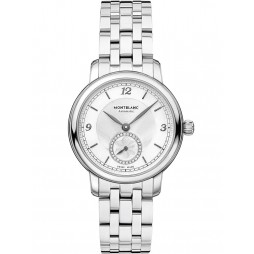 Montblanc Ladies Star Legacy Small Second Diamond Dial Bracelet Watch 118535