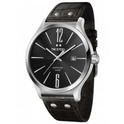 TW Steel Mens Slim Line Strap Watch TW1300