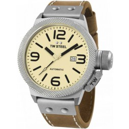 TW Steel Mens Canteen Automatic Strap Watch TWCS16