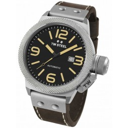 TW Steel Mens Automatic Strap Watch TWCS36