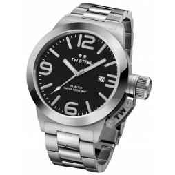 TW Steel Mens Canteen Bracelet Watch TWCB1