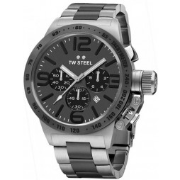 TW Steel Mens Canteen Chronograph Bracelet Watch TWCB203