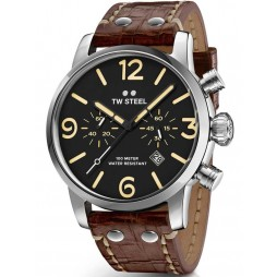 TW Steel Mens Maverick Strap Watch TWMS3