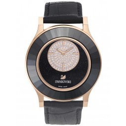 Swarovski Ladies Octea Classica Black Strap Watch 5095484