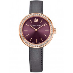 Swarovski Ladies Daytime Rose Gold Plated Strap Watch 5213671