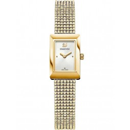 Swarovski Ladies Memories Gold Plated Crystal Bracelet Watch 5209181