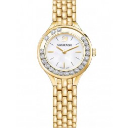 Swarovski Lovely Crystals Gold Plated Bracelet Watch 5242895