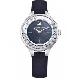 Swarovski Lovely Crystals Mini Black Strap Watch 5242898