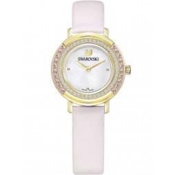 Swarovski Playful Mini Pink Strap Watch 5261462