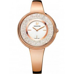 Swarovski Crystalline Rose Gold Plated Bracelet Watch 5269250