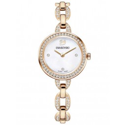 Swarovski Aila Mini Rose Gold Tone Bracelet Watch 5253329